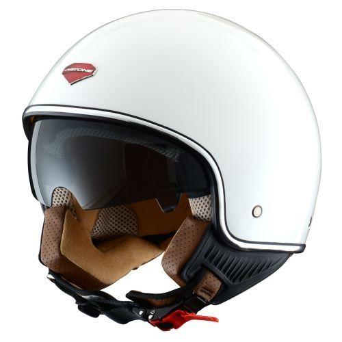 Casco Astone Mini Retro Blanco