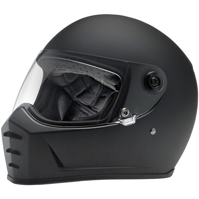 Casco Biltwell Lane Splitter negro mate.