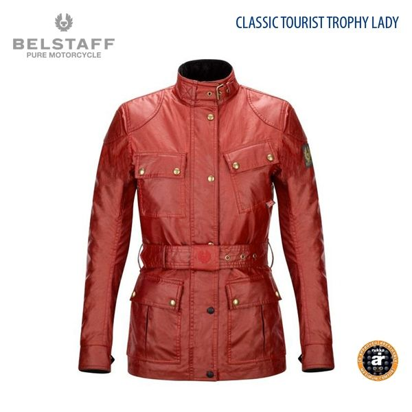 Belstaff Classic Tourist Trophy Lady Racing Red (Roja)