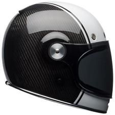 Casco Bell Bullitt Carbon Pierce Negro/Blanco