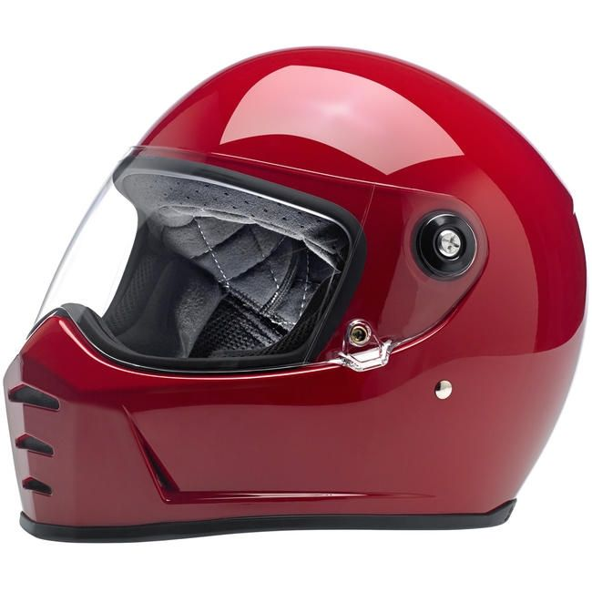 Casco Biltwell Lane Splitter Rojo brillo