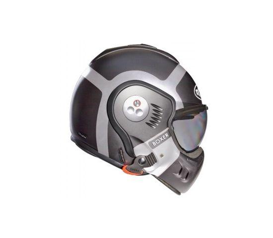 Casco ROOF BOXER V8 BOND titanioplata
