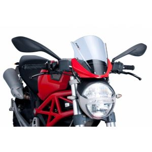 Cupula racing para ducati monster 696 / 796 / 1100