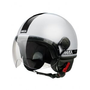 Casco max Power gris brillo