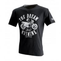 Camiseta dream mashine de von dutch negra