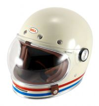 CASCO BELL BULLITT STRIPES PEARL BLANCO